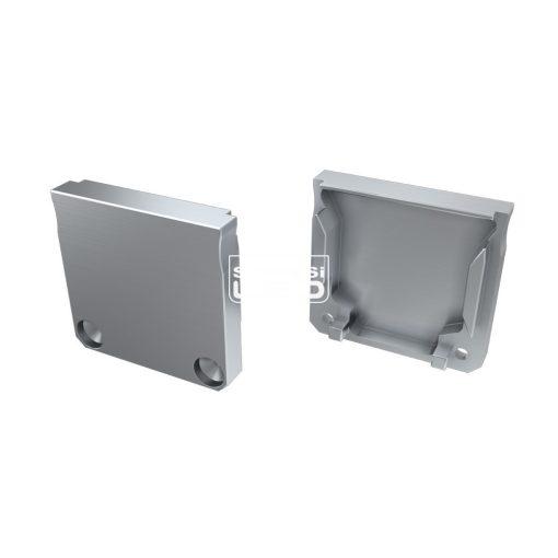 Alumínium Végzáró DILEDA típusú led profilokhoz Ezüst