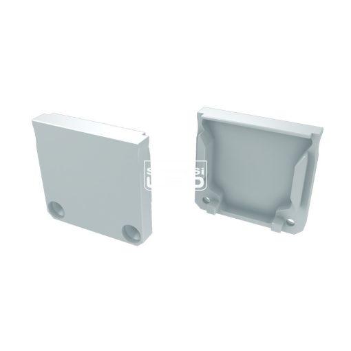 Alumínium Végzáró DILEDA típusú led profilokhoz Fehér