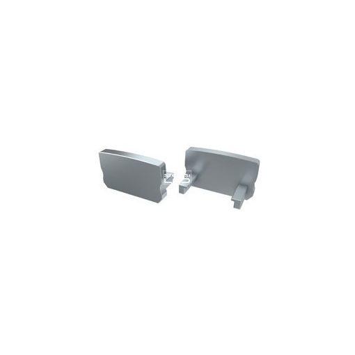 Alumínium Végzáró Standard(D) led profilokhoz Szürke Teli Magas