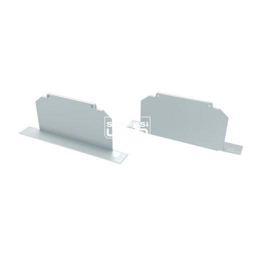Alumínium Végzáró M3 LARGO típusú led profilokhoz Full Fehér