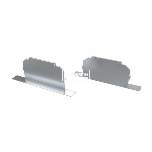 Alumínium Végzáró M4 LARGO típusú led profilokhoz Full Ezüst
