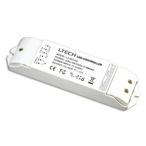 LTECH 4 zónás DALI vezérlő 20A 240W/480W