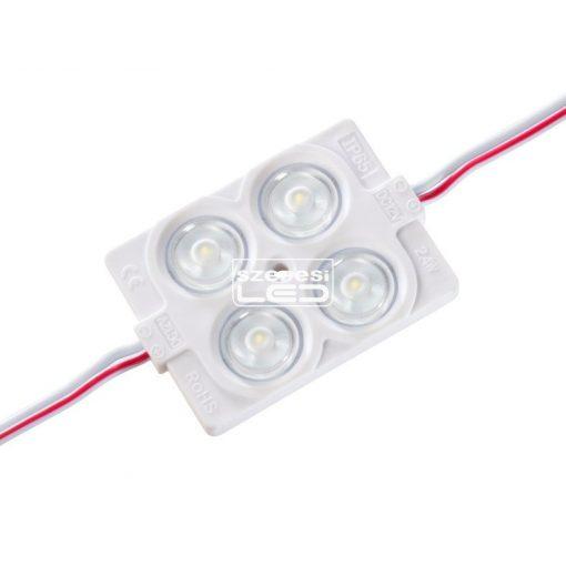 LED Modul hideg fehér 2.4W IP65 világító reklám, világító betű háttér világítás