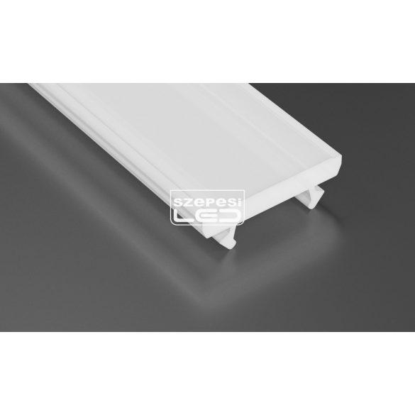 Tejfehér PVC takaróprofil TERRA típus 1 méter