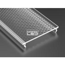 Prismatic takaróprofil Széles Led profilokhoz 1 méteres