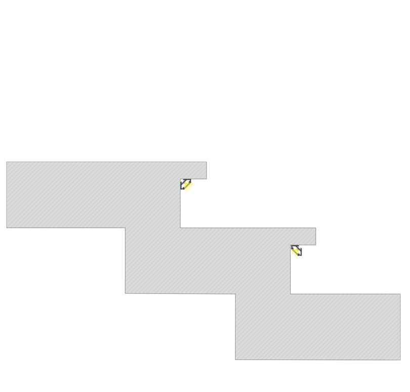 A C profil rögzítésének módjai a lépcsők felületére